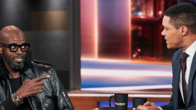 Photo of Watch! Black Coffee Takes Us On The BTS Of Appearing On The Daily Show With Trevor Noah