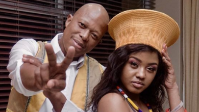 "Photo of Mampintsha Hypes Up His Bae Babes Wodumo's Upcoming Single Otshwaleni ""Is Going To Be A Big Song!"""